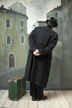 Paolo Ventura, The Magician #6, 2013 Nice to visit you can visit me at charleytakaya every social where -CT