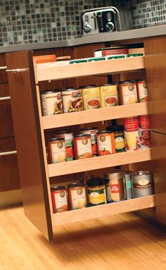 Cooking With Ease On Pinterest Drawers Spice Racks And Stainless Steel