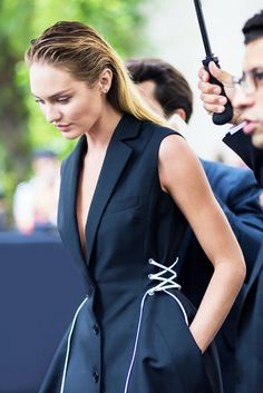 Trend Report: Why You'll Love These Lace-Up Details via @WhoWhatWear