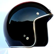 Masei Black Chrome 610 Open Face Motorcycle Helmet Free Shipping Worldwide