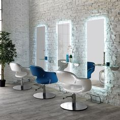 Vanessa Italian Hair Chair by Salon Ambience Available with or without piping.