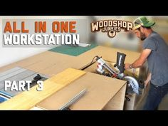 In this video, I installed my miter saw into my ALL-IN-ONE woodworking bench (work in progress). In the previous video, I installed my table saw and was able. Essential Woodworking Tools, Antique Woodworking Tools, Woodworking Workbench, Woodworking Crafts, Woodshop Tools, Woodworking Quotes, Woodworking Equipment, Woodworking Classes, Woodworking Patterns