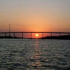 Ocean Isle Beach Bridge Never Get Tired Of Looking At It Best Times Day Is Sunset And Sunrise