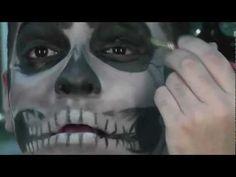▶ Abracadabra NYCs: Realistic Skull Make-Up Tutorial - YouTube