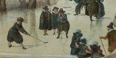 Ice hockey 17th century style!  (Hendrick Avercamp, ca. 1608, Rijksmuseum Amsterdam).