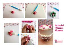 Los Dulces de Victoria: Black Forest Cake & Cherry Blossom Tutorial