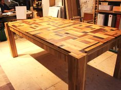 Refurnish atelier #Furniture, #Recycled, #Wood