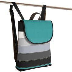 Jarry Uni Five black and turquoise Uni, Backpacks, Turquoise, Bags, Fashion, Handbags, Moda, Fashion Styles, Green Turquoise