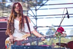 Paz Lenchantin is an Argentine American musician. She is known for playing bass in various bands, including Entrance, A Perfect Circle, Pixies and Zwan