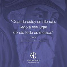 Cuando estoy en silencio (Rumi)