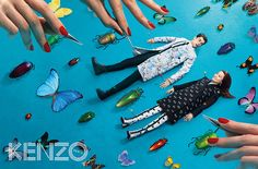 Kenzo FW 2013 Campaign by Toiletpaper