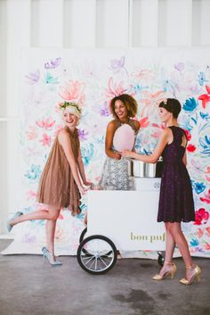Our fab collab with @gws brings you the prettiest bridal party styles for your BFFs!
