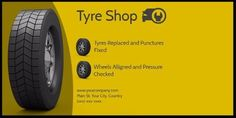A yellow background and tyre illustrations and framed with a black border. Advertise your tyre shop with a modern twitter post. Tyre Shop, Yellow Background, Illustrations, Twitter, Modern, Black, Trendy Tree, Black People, Illustration