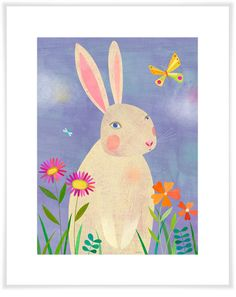 Forest Adventure - Rabbit, Woodland Art Prints | Oopsy Daisy