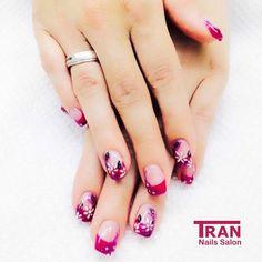 Blooming forever  #trannails #nageldesign #nagelstudioerbach #nailart #wallofnails #gel #manicure
