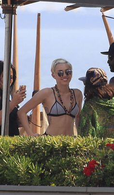 Miley Cyrus in Barcelona