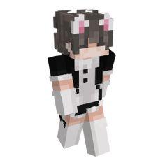 Minecraft Skins Cute Boy, Minecraft Anime Girls, Minecraft Cat, Capas Minecraft, Minecraft Houses, Minecraft Ideas, Minecraft Creations, Minecraft Designs, Skin Mine