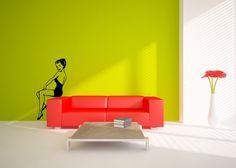 Items similar to Wall Decals Mod Flower Pattern - Vinyl Wall Sticker Art Custom Home Decor on Etsy Wall Patterns, Flower Patterns, Wall Stickers Toilet, Mod Wall, Custom Wall Decals, Glass Room, Flower Wall Decals, Nursery Decals, Patterned Vinyl