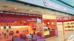 Hello Kitty Cafe Incheon Airport, South Korea.
