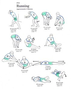 Stretches for after my Couch to 5K runs!