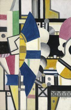 Fernand Léger LA ROUE BLEUE, ÉTAT DÉFINITIF Estimate   8,000,000 — 12,000,000  USD  LOT SOLD. 10,554,000 USD