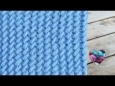 Point tricot en relief super chaud ! pas à pas - YouTube
