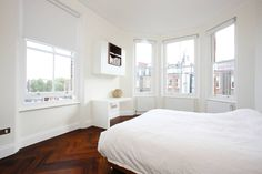 South Brompton Apartments, London : Minimalist bedroom by PAD ARCHITECTS