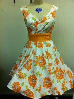 Custom Miss Mia Dress in Freedom Blue by MissBrache on Etsy, $135.00
