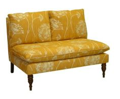 Skyline Furniture Mavericks Love Seat Loveseat Upholstered in Queen Anne's Lace Butterscotch Fabric by Skyline Furniture, http://www.amazon.com/dp/B003SLEFJU/ref=cm_sw_r_pi_dp_ypQYqb0W42XGT