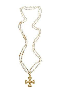 Long Renaissance Necklace <3