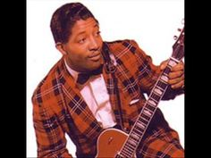Bo Diddley (d. 6/2/2008) ~ Who do you love? ... easy to imitate with that square guitar and matching outfits. It's up to you to keep him in our memory.