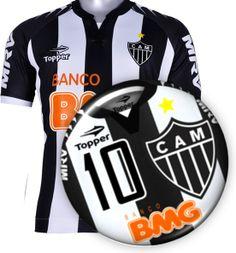 Futebol de botão personalizado do Atlético Mineiro 1