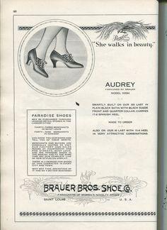 #highheels #vintagefashion #flapper #stl #stlouis #1920s #oldads #history #illustration #oldad
