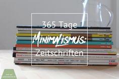 365 Tage Minimimalismus: Zeitschriften ( mit Ideen für das Upcycling von Magazinen ) | Apfelmädchen & sadfsh