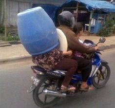Not a recommended helmet substitute...