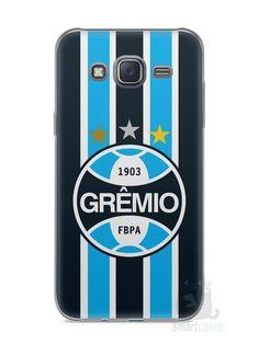 Capa Capinha Samsung J5 Time Grêmio - SmartCases - Acessórios para celulares e tablets :)