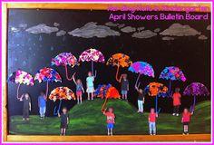 Herding Kats in Kindergarten: April Showers Bulletin Board