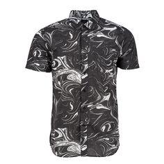 Camisa/Shirt/Mens Volcom Loui Lo Black Street Skate Urban