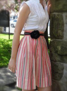 Handmade Clothing on Etsy  Candy Stripe by TiffanyMorganDesigns, $65.00