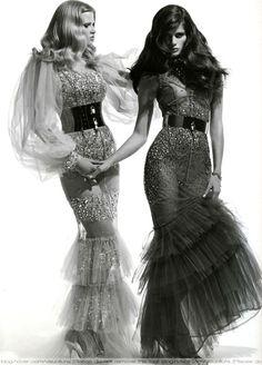 Lara Stone and Isabeli Fontana – Vogue Italy