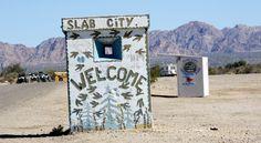 Slab City California