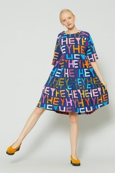 Gorman Online :: Hey Hey Hey Tee Dress - Ten Years Of Collaborating - Collections - Shop