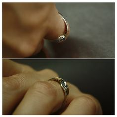 """And at that moment, I swear we were infinite. """"The Perks of Being a Wallflower"""" by Stephen Chbosky. Phrase is stamped on mobius ring. on Etsy, $60.00- I want a guy to give this to me >_<"""