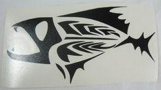 Tribal Fish Variant | Die Cut Vinyl Sticker Decal | Sticky Addiction