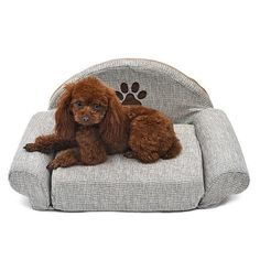 Pet Dog Beds For Dogs Cat Pet Soft Kennels Cute Paw Design Puppy Warm Sofa Gray Removable Dog Cat Houses Winter For Pet Products Cheap Dog Beds, Pet Dogs, Dog Cat, Pet Vet, Cute Dog Beds, Orthopedic Dog Bed, Dog Pattern, Pattern Print, Pets