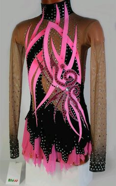 Rhythmic Gymnastics Costumes, Acrobatic Gymnastics, Gymnastics Outfits, Stage Outfits, Dance Outfits, Dance Dresses, Circus Costume, Skate Wear, Figure Skating Dresses