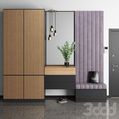 Hallway Designs, Foyer Design, Home Room Design, Home Office Design, Home Interior Design, Hallway Ideas, Hall Furniture, Bedroom Furniture Design, Interior Cladding