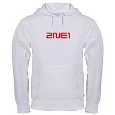 T-shirts, hoodies, baby clothes, cell phone cases, mugs, bags and over 100 other products with this design at: http://www.cafepress.com/2ne1z/9595355  2NE1 logo 3000-500 Hooded Sweatshirt