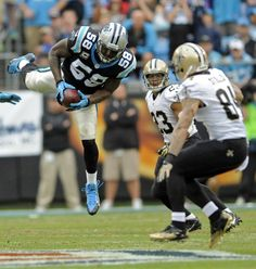 from Carolina Panthers Thomas Davis intercept Drew Brees