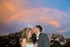 Wedding rainbow! www.ryangreenphotography.com Austin Wedding Photographers - photos by Ryan & Lindsey Green